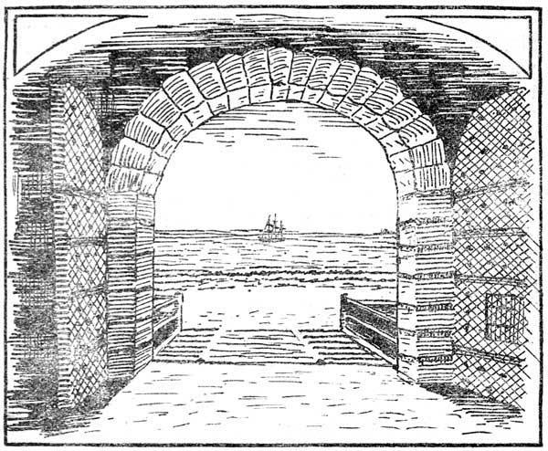 கோட்டையில் இருந்து கடல் - பின்வாங்குவதற்கு முன்