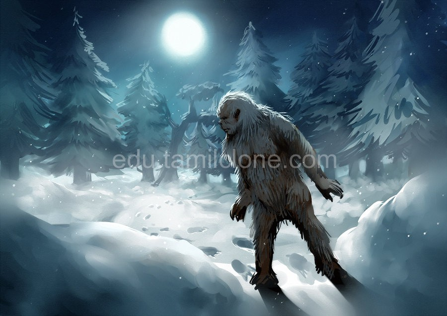 yeti-tamil-science