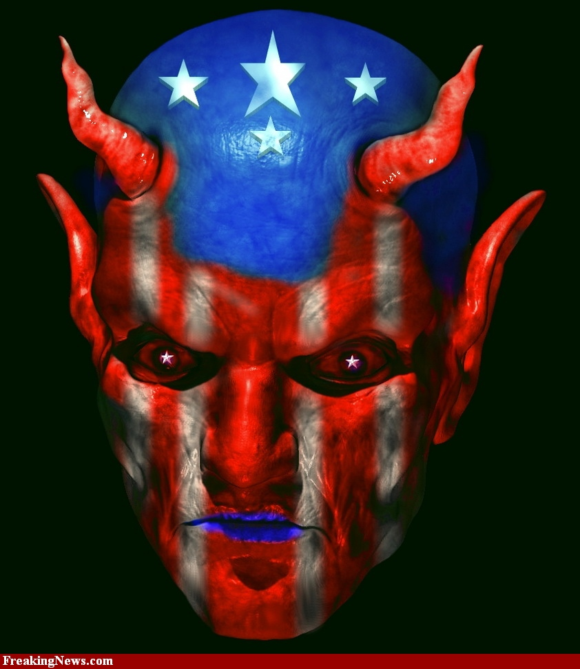 Lucifer-With-American-Flag-Face-58281