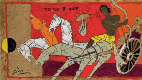 mahabharata-arjuna-and-krishna-1980s