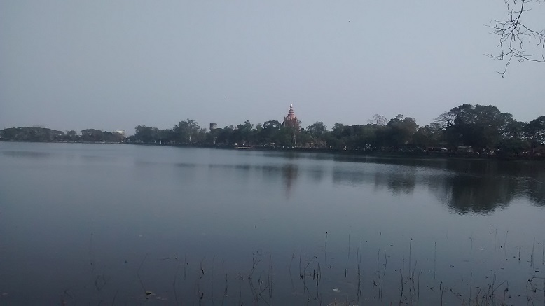 sivasagar-temple lake view