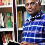 Jaya mohan,writer in his home at Nagarkovil,Tamilnadu