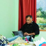 travel with writer Jyamohan in the Spiti Valley at Himachal pradesh