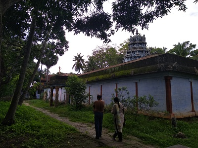 கேரளபுரம் ஆலயம் பின்பக்கம்