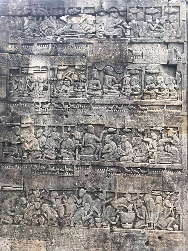 Bayon Wall Carvings 1