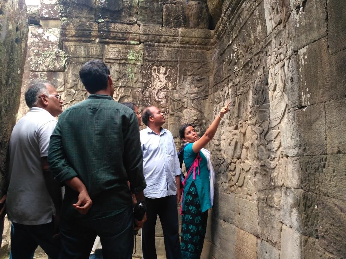 Bayon Wall Carvings 4
