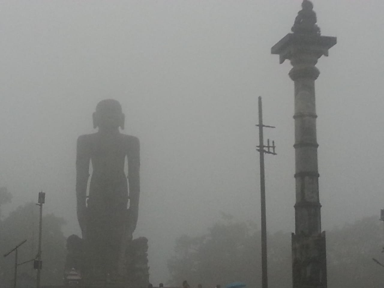 மழைக்குள் பாகுபலி, தர்மஸ்தலா