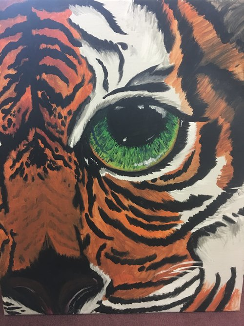 Tiger+painting