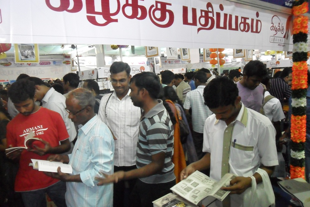 crowd in kizhakku stall